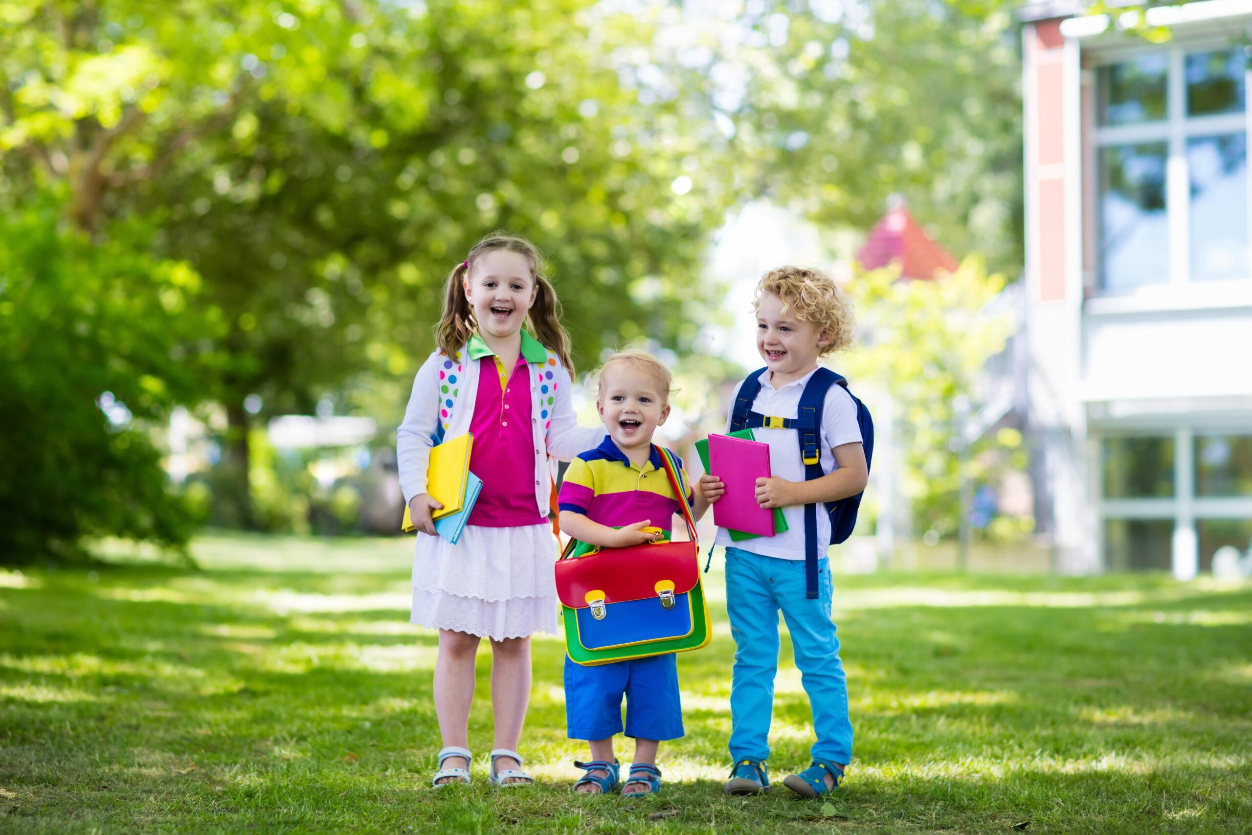siblings starting school
